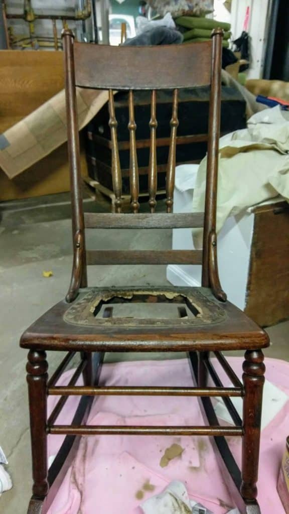 Sensational How To Replace A Leather Seat In An Antique Chair Everyday Cjindustries Chair Design For Home Cjindustriesco