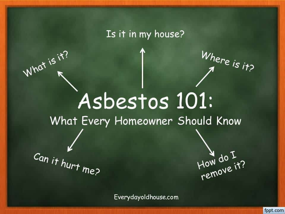 Do You Have Asbestos in Your House? - Everyday Old House
